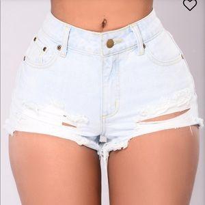 Singapore Distressed Shorts